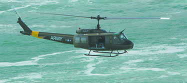 Huey Helicopter Tours Cape Town on the combat flight