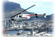 Cape Town Helicopter views over Table Mountain